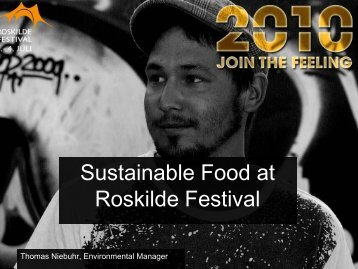 Sustainable Food at Roskilde Festival - Menu