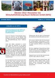 Newsletter Oktober 2012 - Wirtschaftsförderung Raum Heilbronn ...