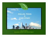 Dallas - ICLEI Local Governments for Sustainability USA