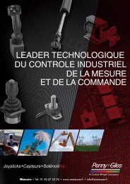 leader technologique du controle industriel de la ... - Wimesure