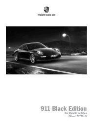 911 Black Edition - Porsche