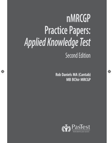 Mrcgp practice questions applied knowledge test pastest nmrcgp practice papers applied knowledge test pastest fandeluxe Choice Image