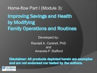 File 6) Module 3 Part I Improving Savings and Health by Modifying ...