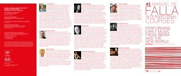 COURses - Festival Internacional de Música y Danza de Granada