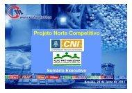Projeto Norte Competitivo - CNI