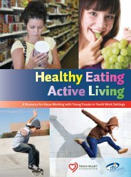 Healthy Eating - Active Living - National Youth Health Programme