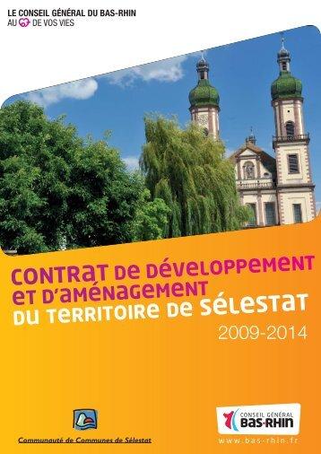 document Conseil general bas rhin CT Selestat - Conseil Général ...