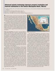Advanced seismic technology improves prospect evaluation and ...