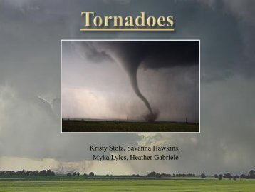 How do tornados form? - Faculty Web Pages