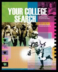 Your College Search 2011 - Lyme Central School