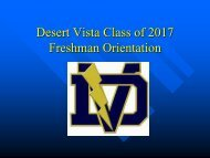 Class of 2017 Registration Orientation - Counseling