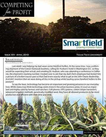 Smartfield - Texas Tech University