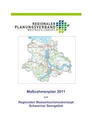 Maßnahmenplan 2011 - Regionaler Planungsverband ...