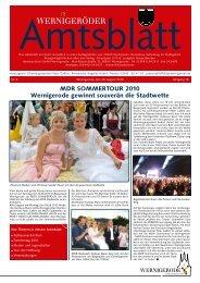 Amtsblatt_Stadt_Wernigerode_08_ 2010 - Stadt Wernigerode
