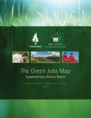 Ontario, The Green Jobs Map - Evergreen