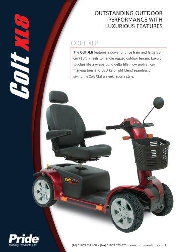 COLT XL8 - Pride Mobility UK