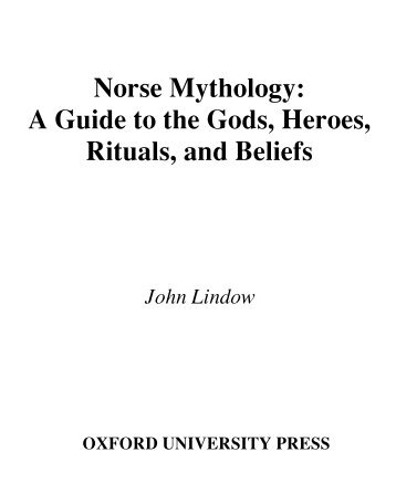 an introduction to the issue of religious belief and mythology of a deity