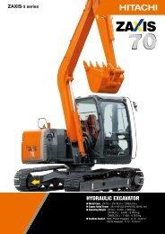ZX70-3 - Hitachi Construction Machinery
