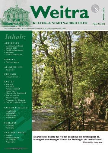 Folge Jänner/Februar/März 2011 - Nr. 254