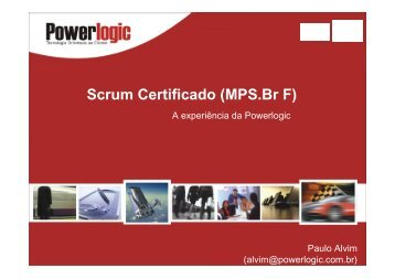 Scrum Certificado (MPS.Br F) - Cesar