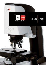 3D Optical Profiler - ST Instruments