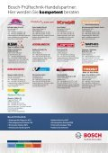 Hier erhalten Sie Bosch-Prüftechnik - Bosch - Werkstattportal - Seite 2