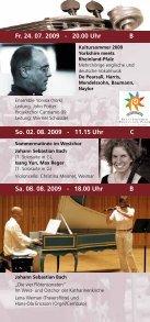 St. Katharinen Oppenheim Musikprogramm onen - Evangelische ... - Page 6