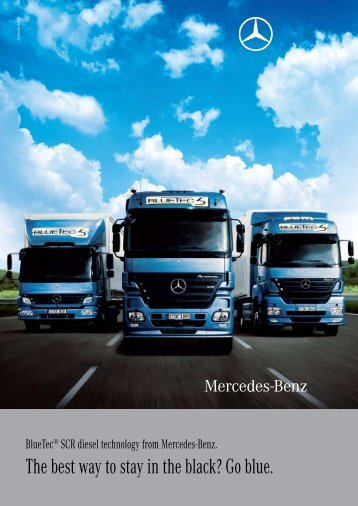 The best way to stay in the black? Go blue. - Mercedes-Benz