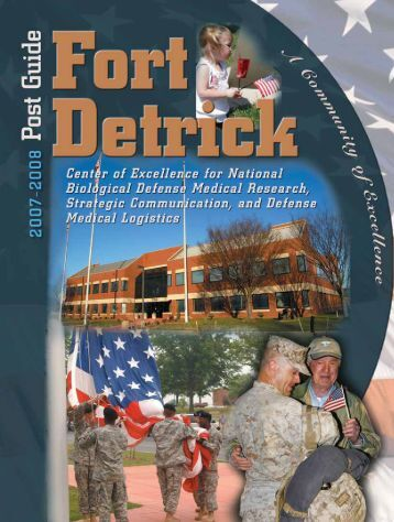 About Fort Detrick - DCMilitary.com