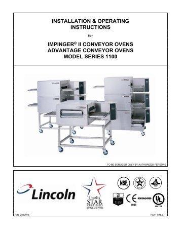 Impinger II - Digital Advantage Operator Manual