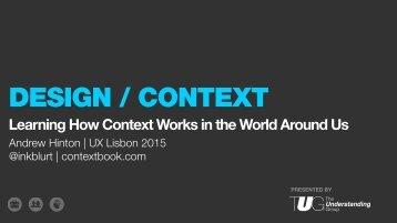 ContextWorkshopMaterialsUXLX2015