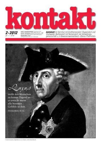 Ausgabe 02 (26.01.2012) PDF - Herrnhut