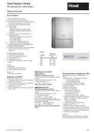 Opis proizvoda Kondenzacioni zidni kotao Hoval TopGas® (30-80)