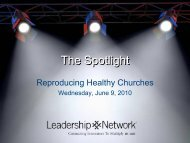 The Spotlight - Leadership Network