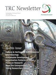 TRC Newsletter Issue 5