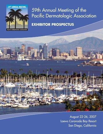 PDA's 59th Annual Meeting A - Pacific Dermatologic Association