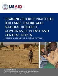 Best Practices: Rwanda - Land Tenure and Property Rights Portal