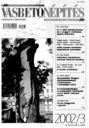 a beton súrlódása - a fib Magyar Tagozata honlapja - Budapesti ...