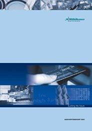 Download Geschäftsberichte 2003 - Mühlbauer AG