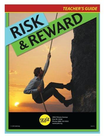 Risk and Reward Teacher's Guide - Izzit.org