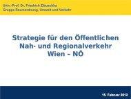 Nah- und Regionalverkehrsstrategie Ostregion NRSO - Stadt-Umland ...