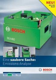 Emissions-Analyse - Bosch - Werkstattportal