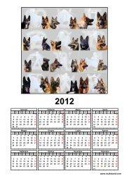 Scarica il CALENDARIO 2012 in formato PDF