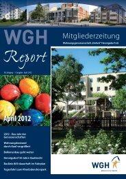 Ausgabe April 2012 - WGH Einheit