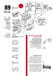 Standpunkt 89, November 2006/pdf - vpod Bern