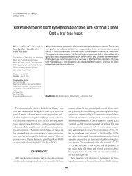Bilateral Bartholin's Gland Hyperplasia Associated with Bartholin's ...