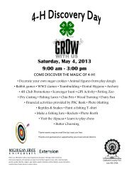 Saturday, May 4, 2013 9:00 am - 3:00 pm - Oakland County