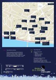 Mapa múzeí a galérií (PDF) - Muzeum.SK