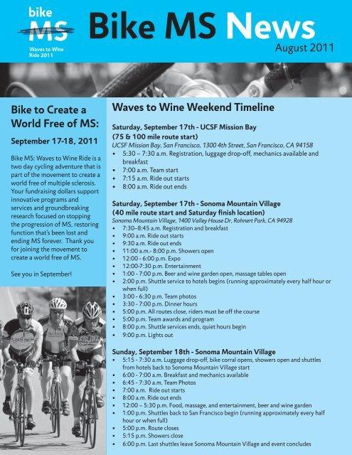 Bike MS News - National Multiple Sclerosis Society