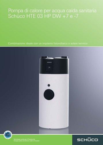 Pompa di calore per acqua calda sanitaria Schüco ... - VIC-ENERGY
